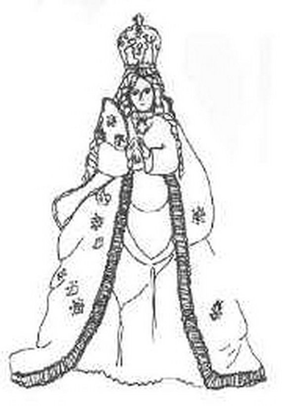 Immaculate Conception Coloring Pages | Immaculate Mary | Pinterest ...