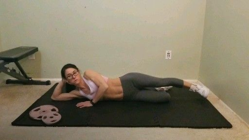 Lower body workout to grow bigger glutes. The best glute workout for women who workout at home, no e...