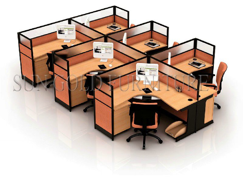 Modern office cubicle dividers small office cubicles sz - Small office setup ideas ...