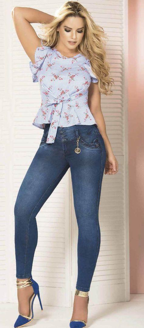 العلم الوطني آلة جورج هانبيري Blusas Elegantes Con Jeans Natural Soap Directory Org