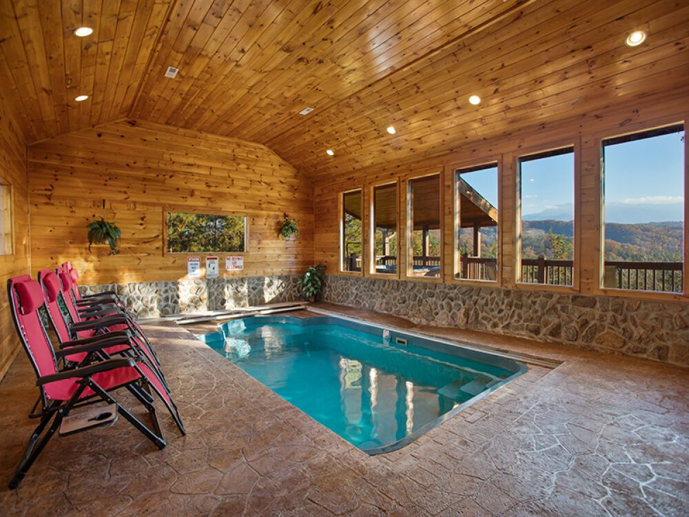 5 Benefits Of Staying In Gatlinburg Cabins With Pools In 2020 Indoor Pool Gatlinburg Cabins Indoor Pool Design