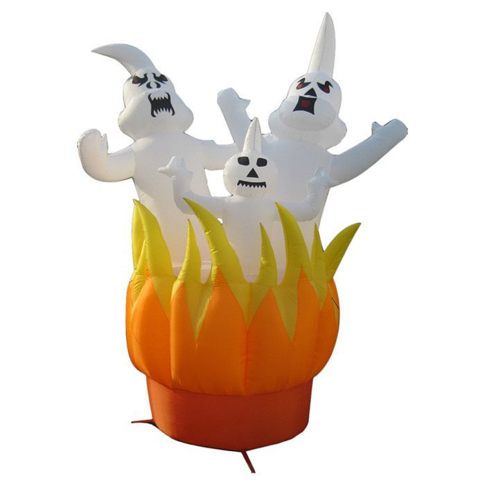 Ghosts On Fire Inflatable Halloween Decoration Products - inflatable halloween decoration