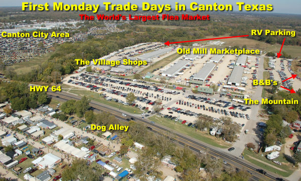 Canton Texas First Monday Trade Days Rv Parking Request At