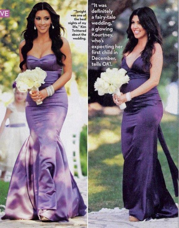 Purple Bridesmaid Dress Kardashian Wedding Purple Bridesmaid Dresses Purple Wedding Dress Bridesmaid