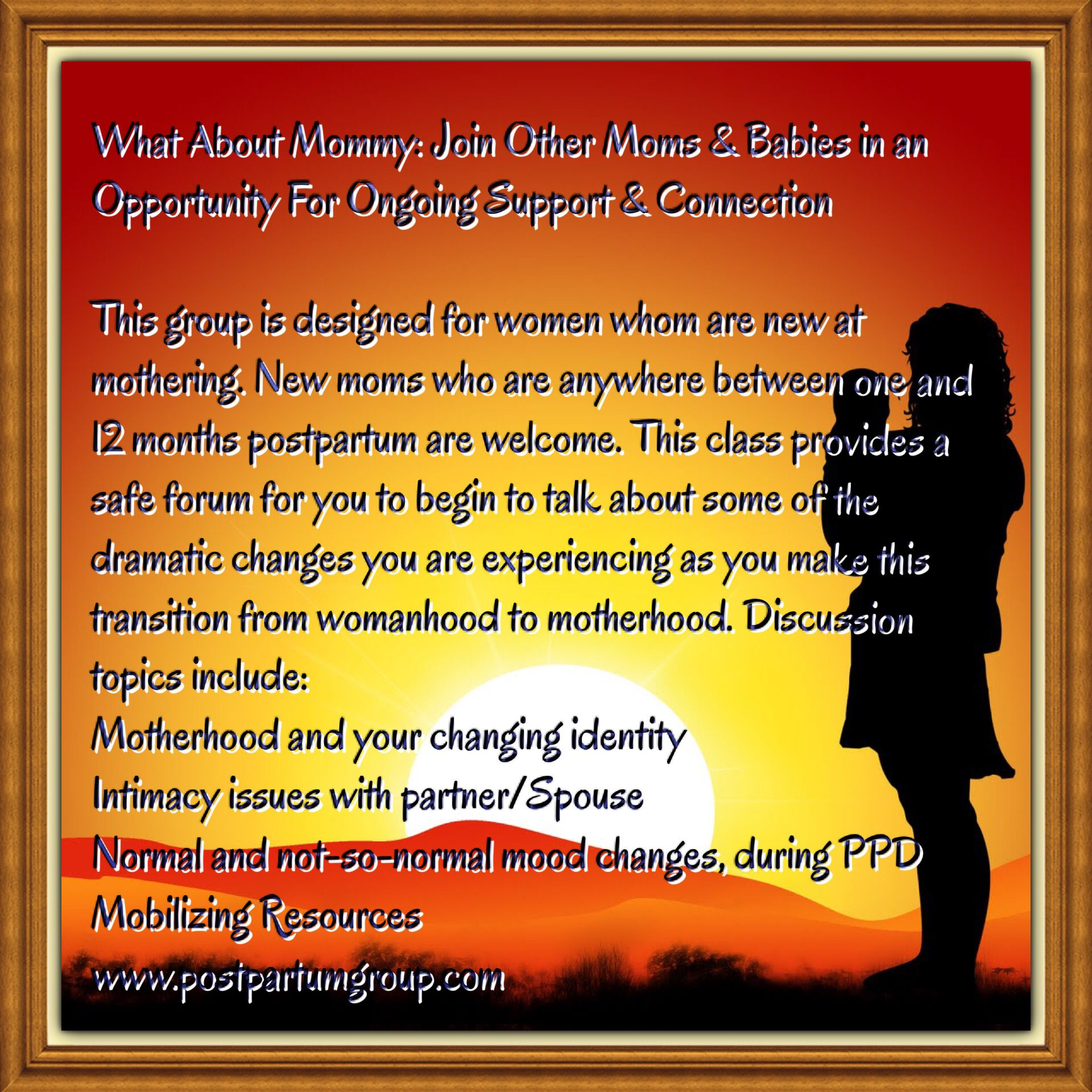 Pin On Postpartum Support Group