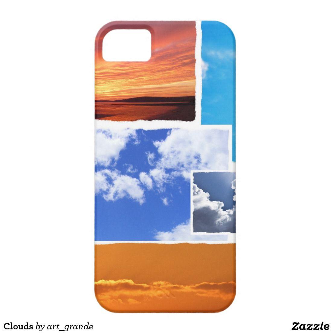 Clouds HTC Vivid Cases