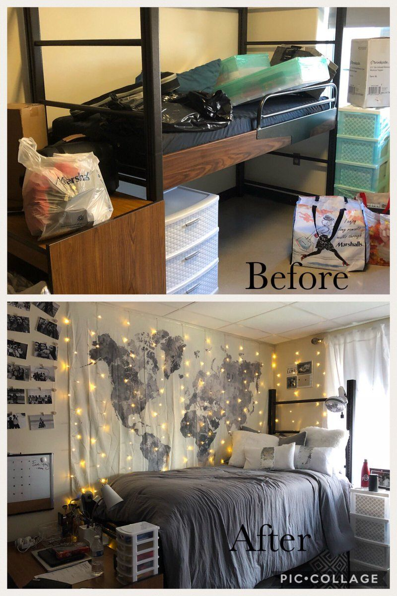 These dorm room makeovers prove anything is possible