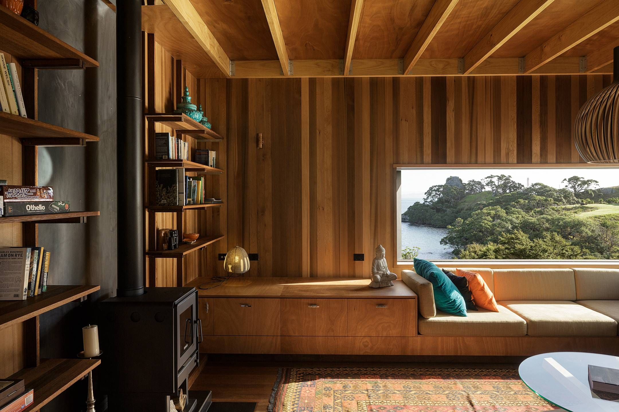 House design rock - Herbst Architects Castle Rock Residence Whangarei Heads Nz