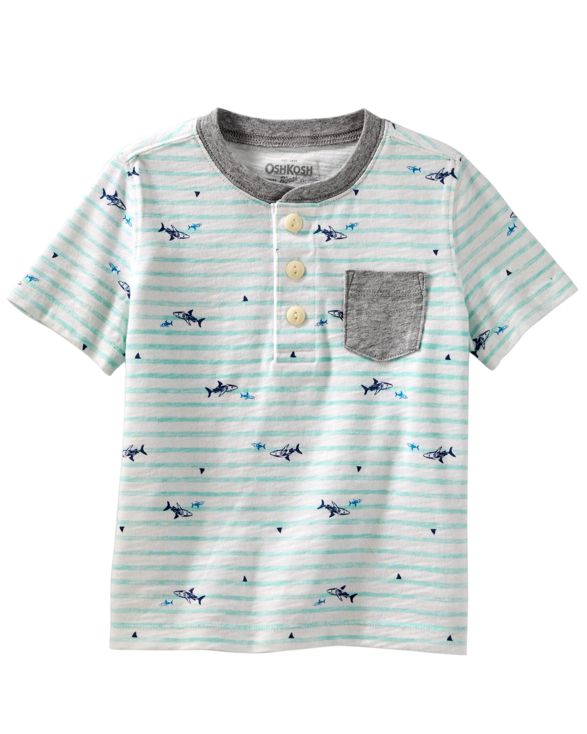 3203caf66 Toddler Boy Shark Jersey Tee from OshKosh B'gosh. Shop clothing &  accessories from a trusted name in kids, toddlers, and baby clothes.