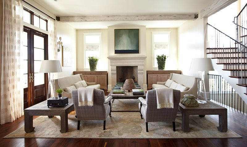 terrific beach house living room furniture   Sophisticated Florida Beach House   Lovely Living Areas ...