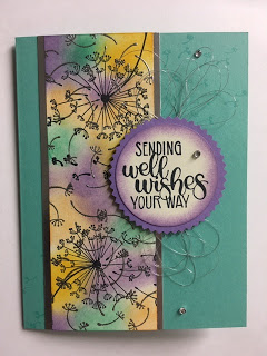Dandelion Wishes, Get Well Card