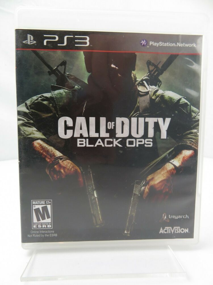 Call of duty black ops sony playstation 3 2010