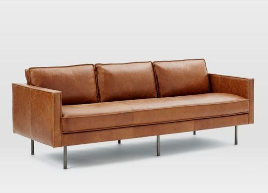 10 Stylish Modern Leather Sofas For Every Budget Modern Leather Sofa Leather Sofa Best Leather Sofa