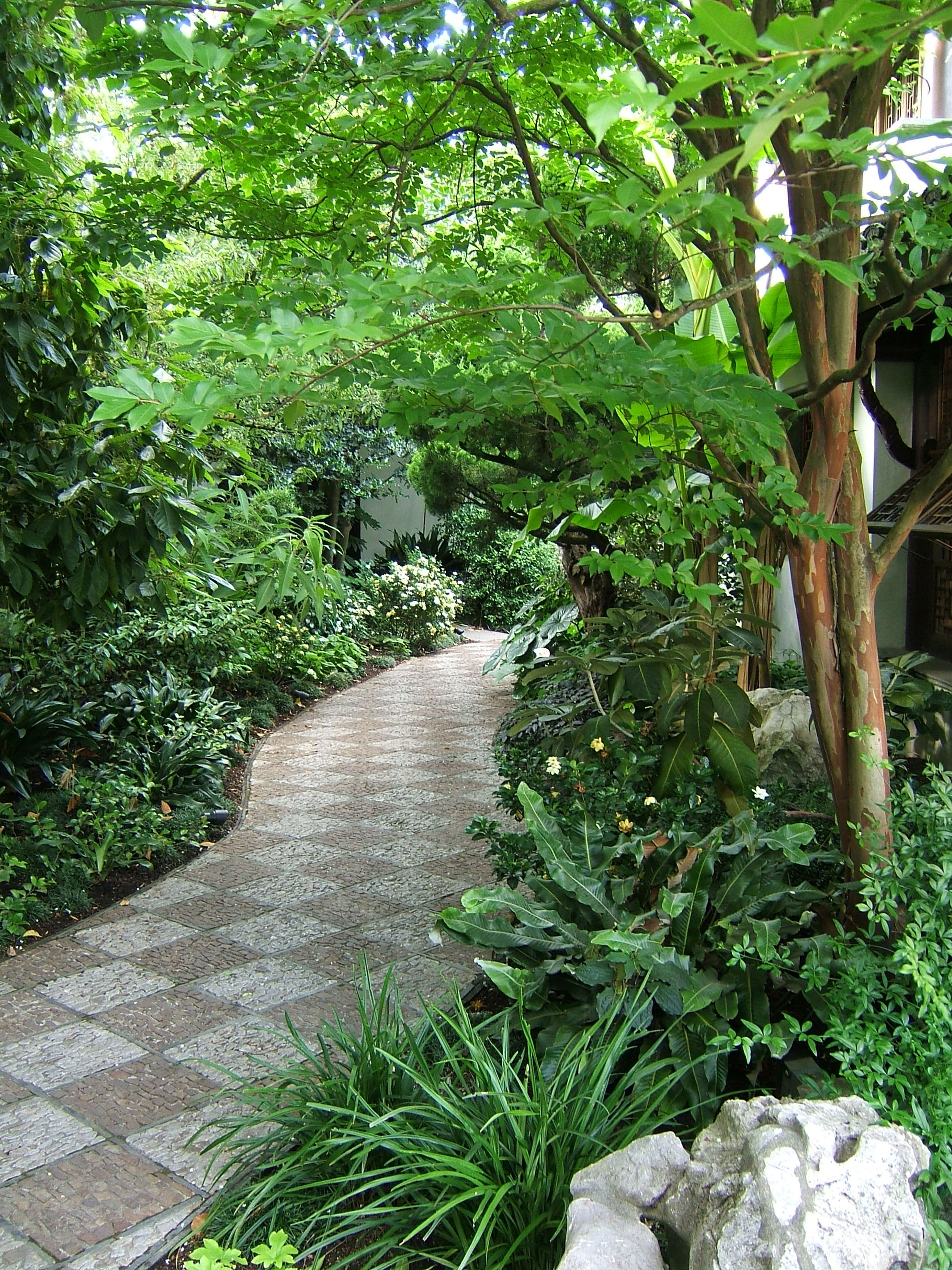 Garden Pathway Designs Bedroom and Living Room Image Collections
