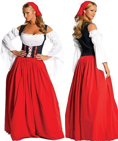 Костюм французской крестьянки Для модников и модниц Pinterest - female halloween costume ideas