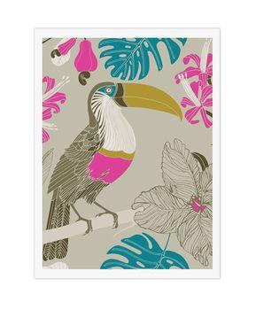 'Tropical Toucans' Art Print