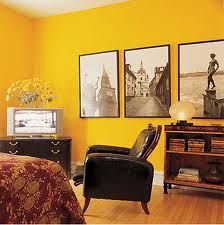 High Quality Statement Mustard Walls / Just Painted My Living Room Walls This
