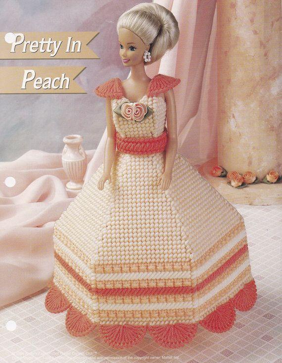 Plastic Canvas Pattern Fashion Doll Accessory Keeper Annie/'s
