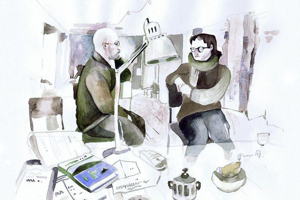 Московские офисы врисунках Лизы Смирновой. Изображение №16.