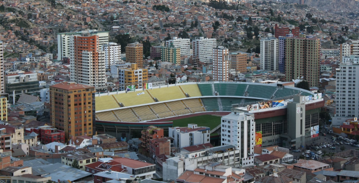 Estadio Hernando Siles, Bolivia