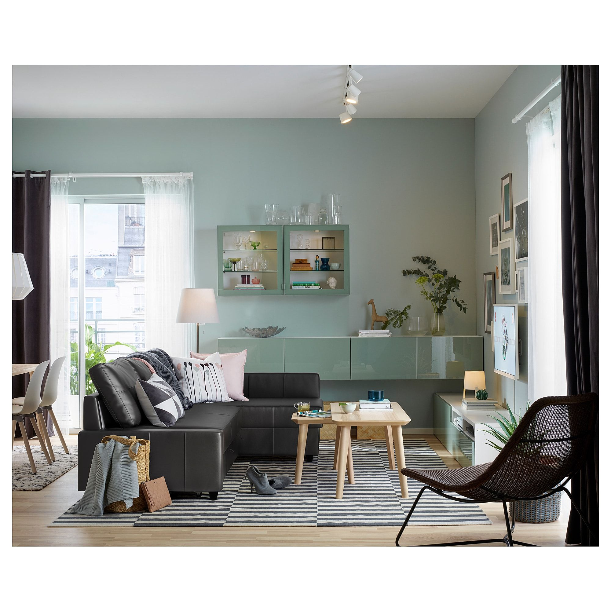 Friheten Hoekslaapbank Skiftebo Donkergrijs Ikea.Friheten Corner Sofa Bed With Storage Skiftebo Dark Gray