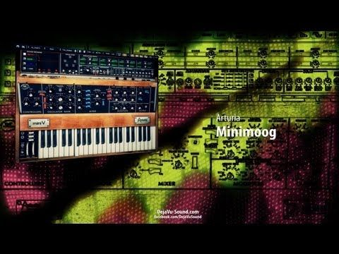 awesome Arturia Minimoog/ Mini V EDM Soundbank by Kevin