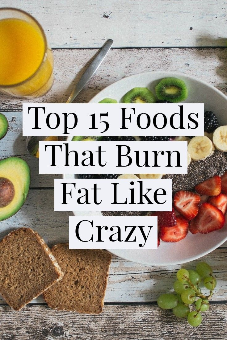 The Best Fat-Burning Foods