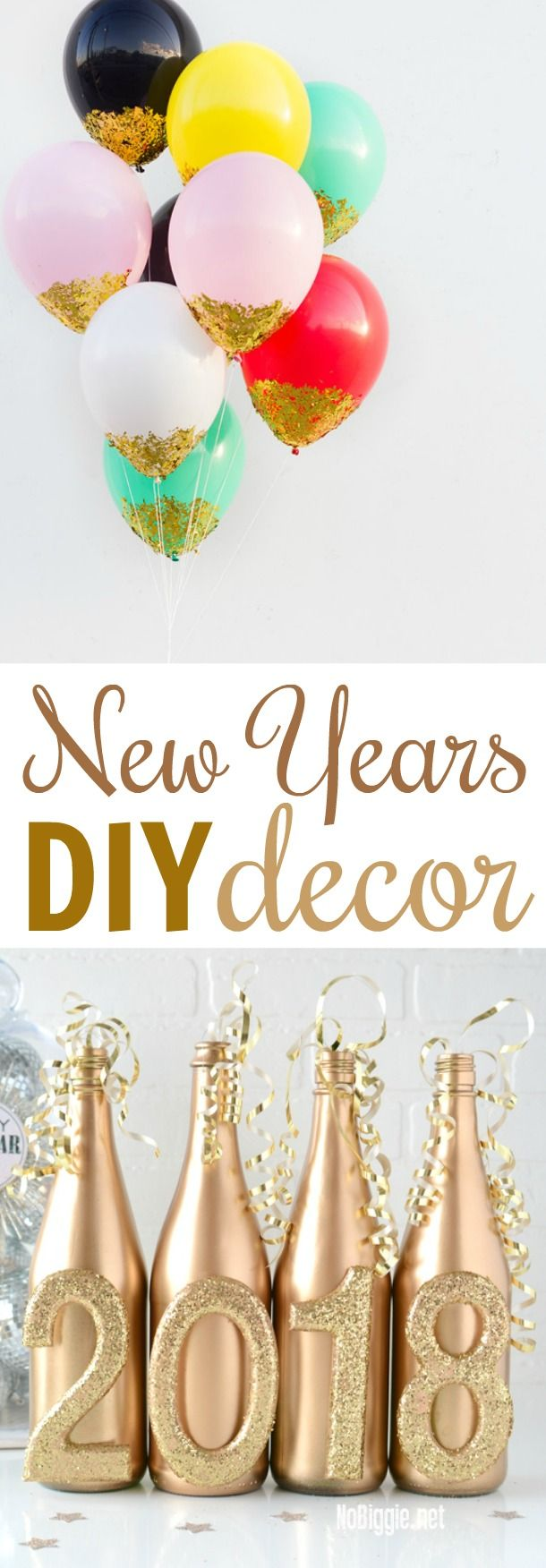 New Years DIY Decor New year diy, Diy gifts for kids