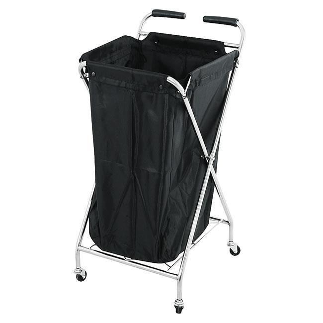 Salon Portable Towel Basket Laundry Sheets Storage Rolling Basket