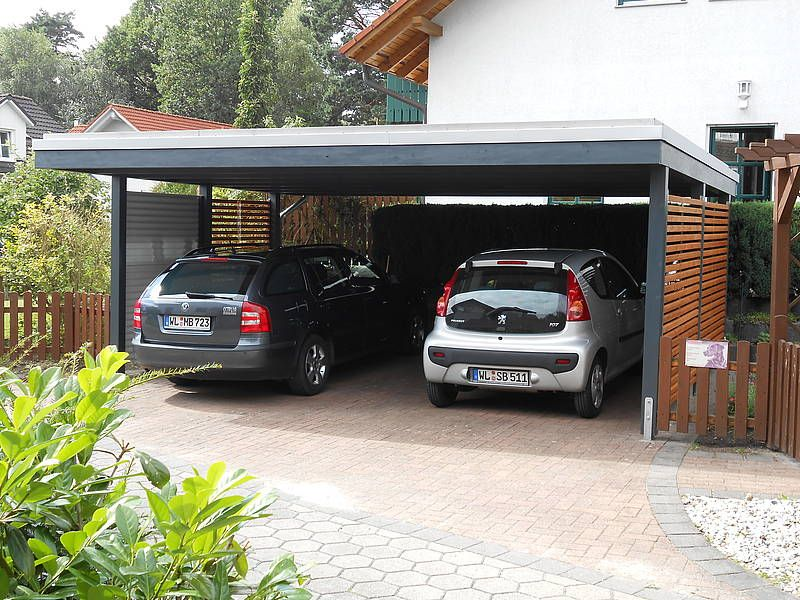 design carport holz stahlwelle carport pinterest. Black Bedroom Furniture Sets. Home Design Ideas