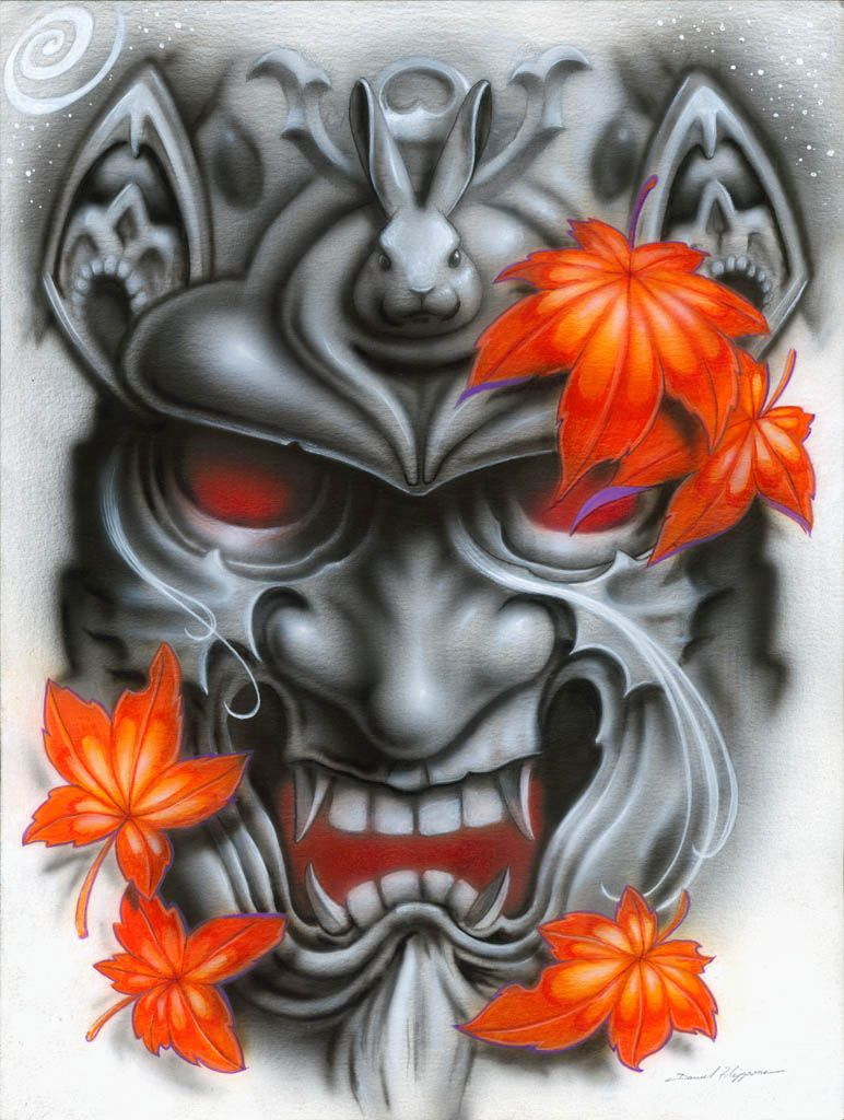 Samurai Tattoo Design A Color Buscar Con Google Japanese Geisha