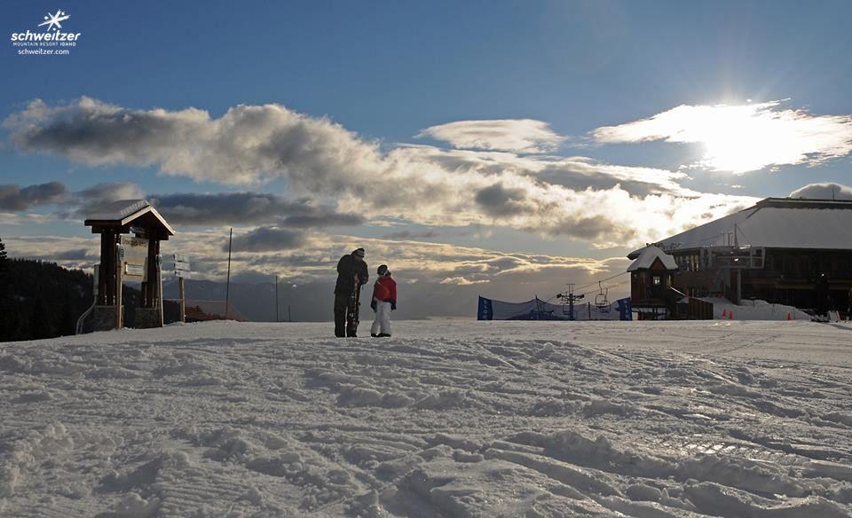 Getting an early start schweitzer mountain resort ski