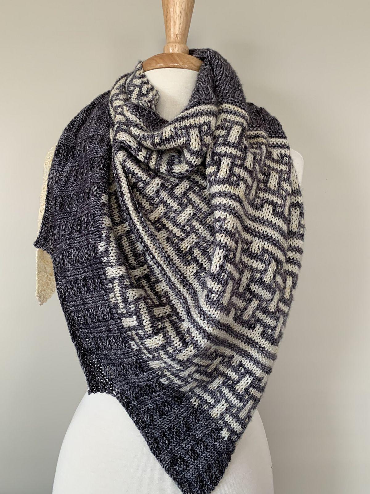 Snowcastles   Loom knitting patterns, Sweater pattern, Pattern