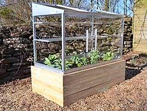 The Growhouse - A Mini Greenhouse Range From Access.