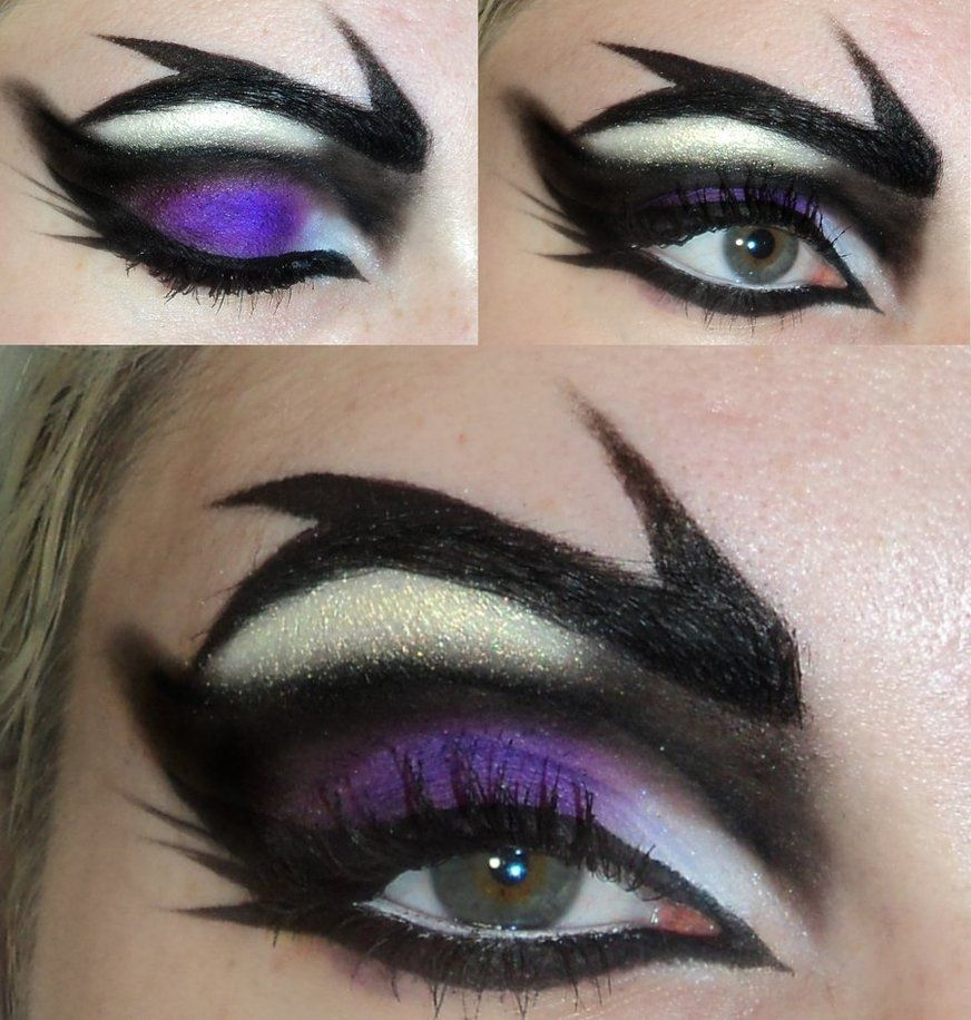 maleficient eyes from disneys sleeping beauty costume