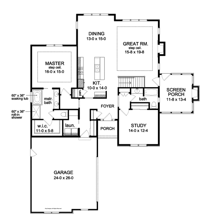 Roomy Ranch With Finished Walkout Basement (HWBDO76673