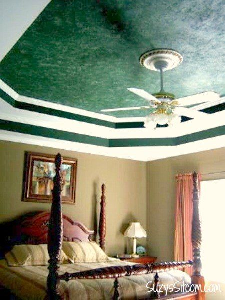 40 Creative Ceiling Ideas That Will Transform Any Room DIY Ideas Gorgeous How To Paint Your Bedroom Creative Property