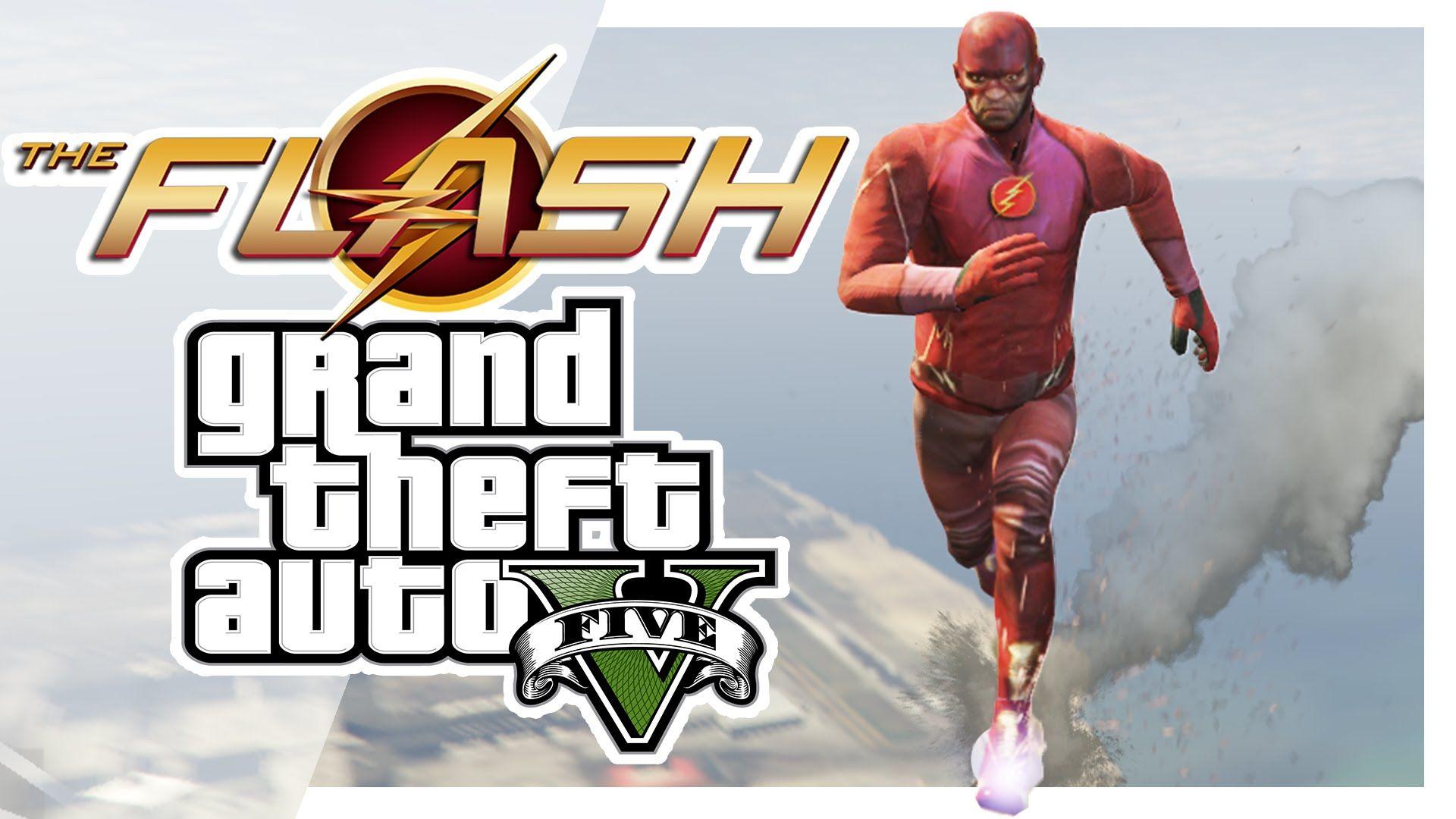GTA V Mods - The Flash - http://www.comics2film.com/dc/flash/gta-v-mods-the-flash/  #TheFlash