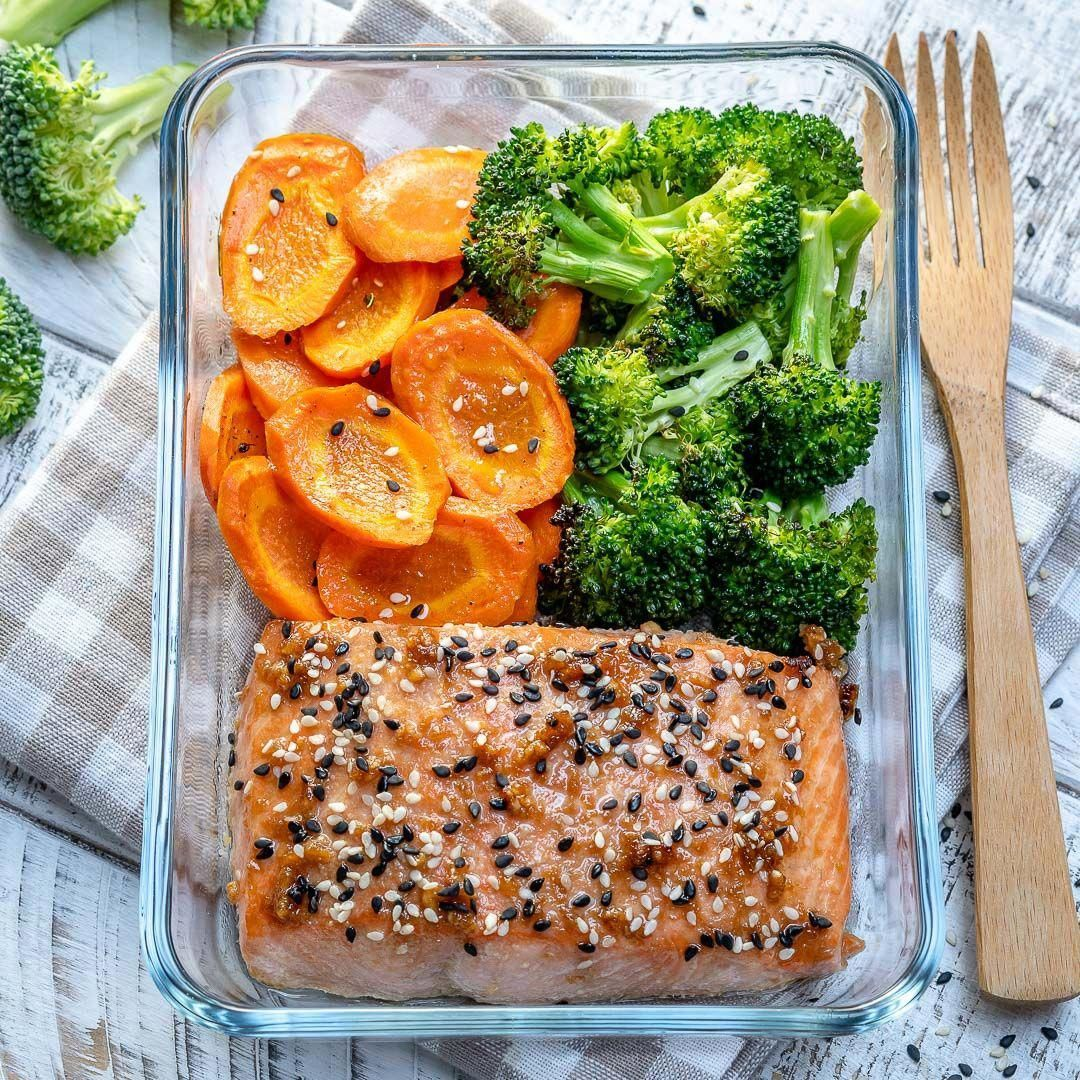 Eating Salmon Homemade Teriyaki Salmon for Clean Eating Meal Prep  Clean Food Crush