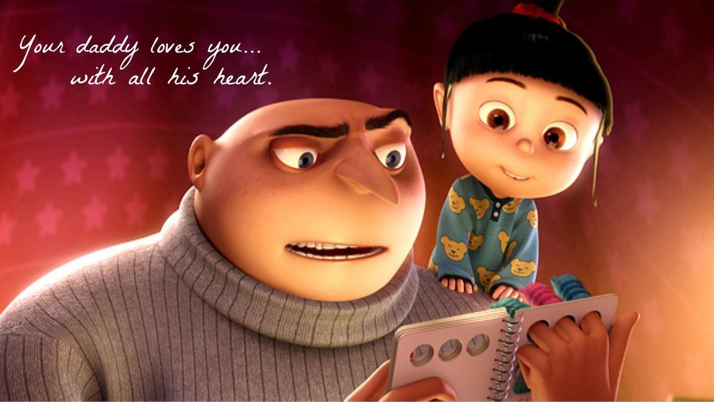 The cute Agnes from Despicable Me. Nice movie don&#39-t forget to ...
