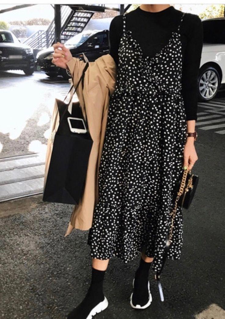 Photo of Deine genähten Sommerkleider auch im Herbst tragen. #outfitideasstreetstyle