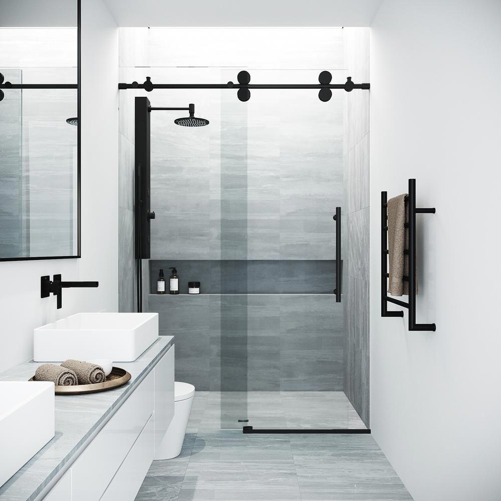 Discover Fabulous Bathroom Remodel Ideas Diy Bathroomideasy Bathroomremodelfromhell Bathroomrenovationunderway Duschtur Kleines Bad Umbau Schwarz Dusche