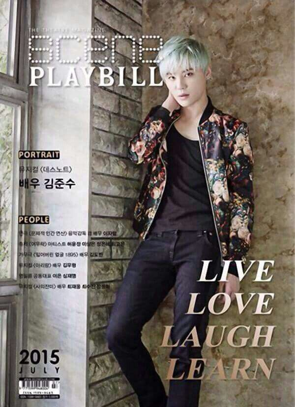 Junsu Baby for Playbill ❤️ JYJ Hearts