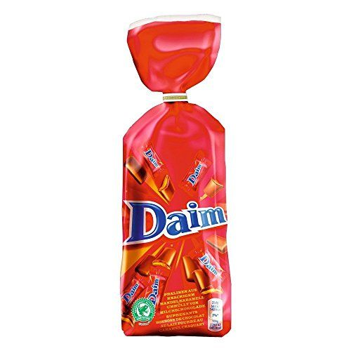 Great Daim Chocolate Bags - 200g Individual wrapped Daim Chocolates