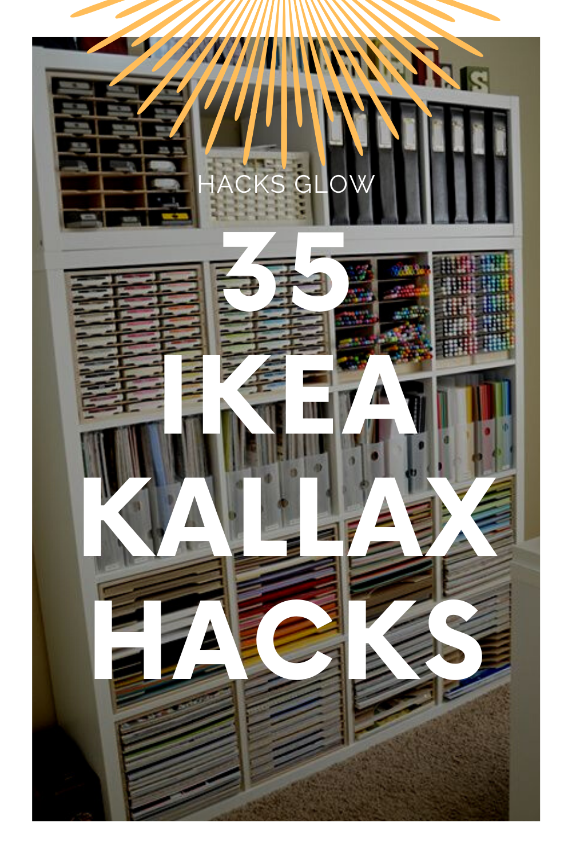 35 Ikea Kallax Hacks That Help You Organise Your Home