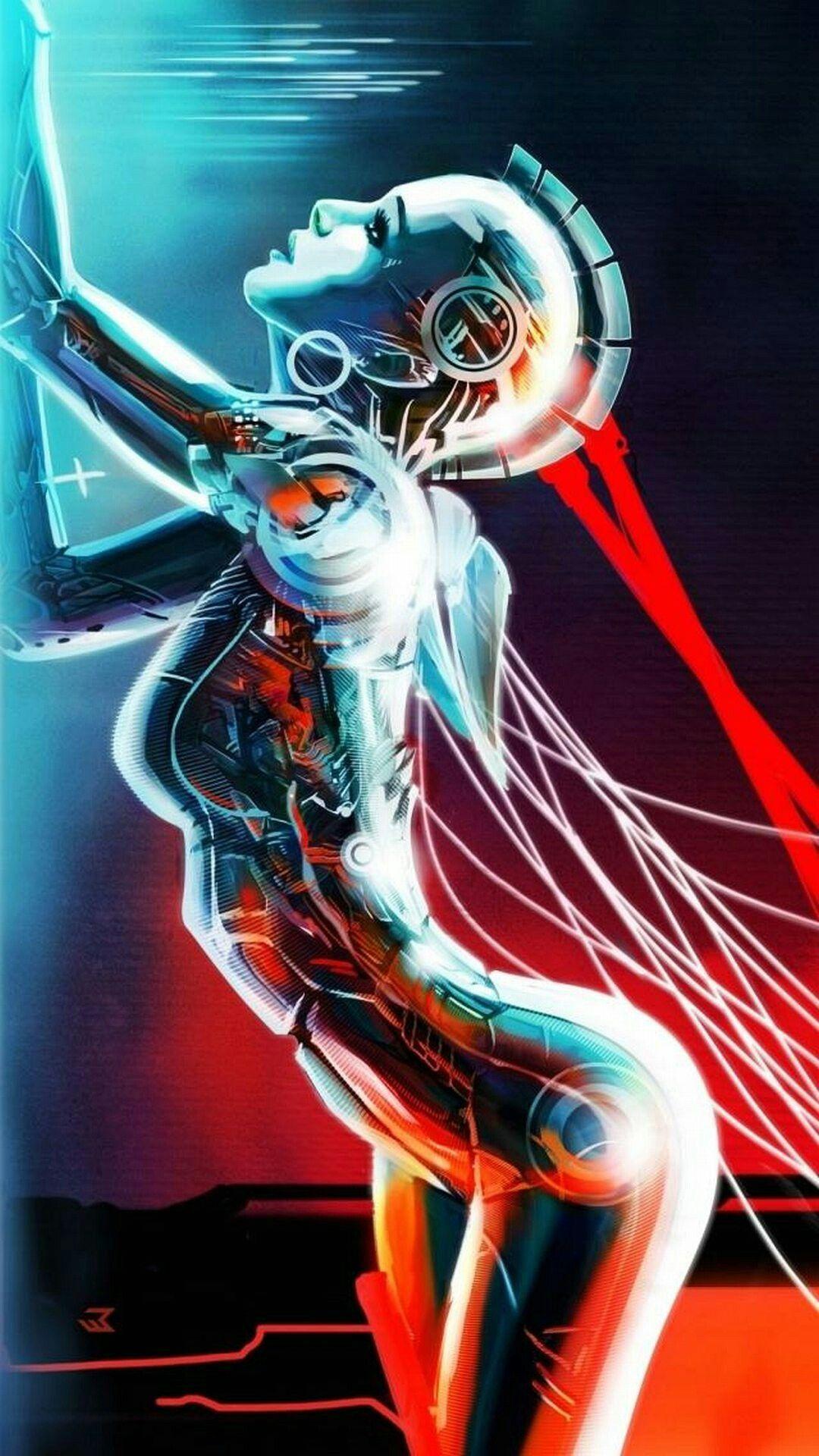 Pin by BTP1524 on wallpapers Cyberpunk girl, Wallpaper