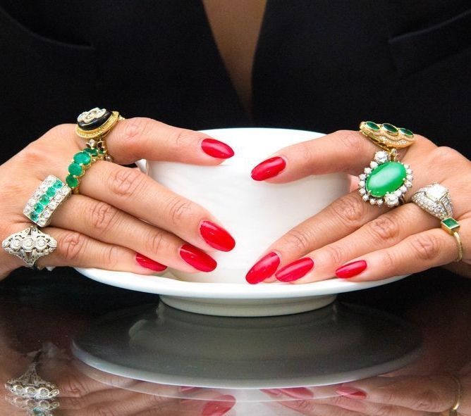 Kavador Jewelry Emerald Rings // Where to Shop for Jewelry Online: (http://www.racked.com/2016/2/4/10791252/best-jewelry-stores-online?utm_campaign=racked&utm_content=feature:top&utm_medium=social&utm_source=pinterest)