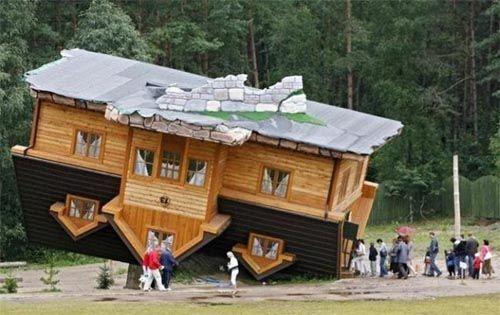 Unusual Home Designs - upside down house | Unique/Unusual Fun ...