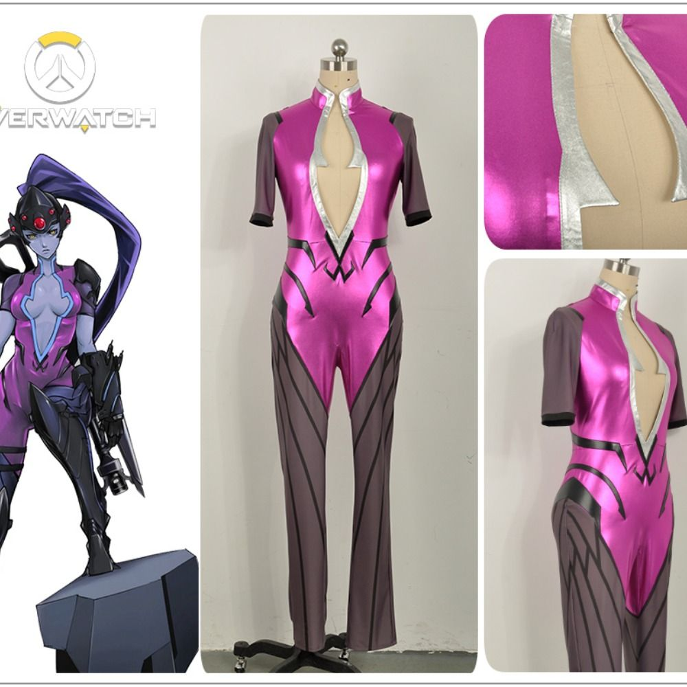 Overwatch OW Widowmaker Cosplay Costume Women Uniform