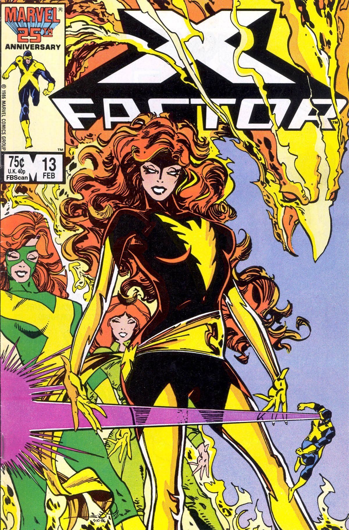X Factor 13 February 1987 Cover By Walt Simonson Comics Marvel Comics Covers Comic Books